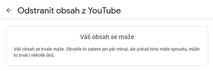 Jak odstranit Youtube účet 09