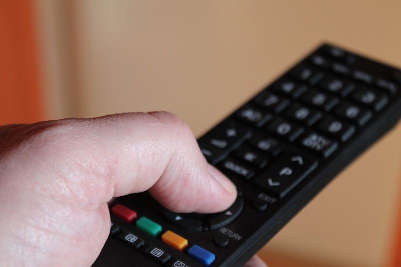 Dálkové ovládání k tv