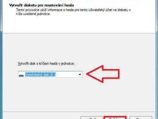 Disk pro resetování hesla Windows 7 - 3