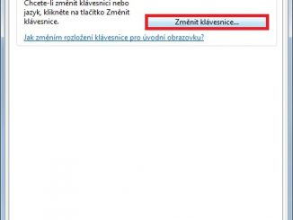 Jak změnit jazyk klávesnice Windows 7 - 3