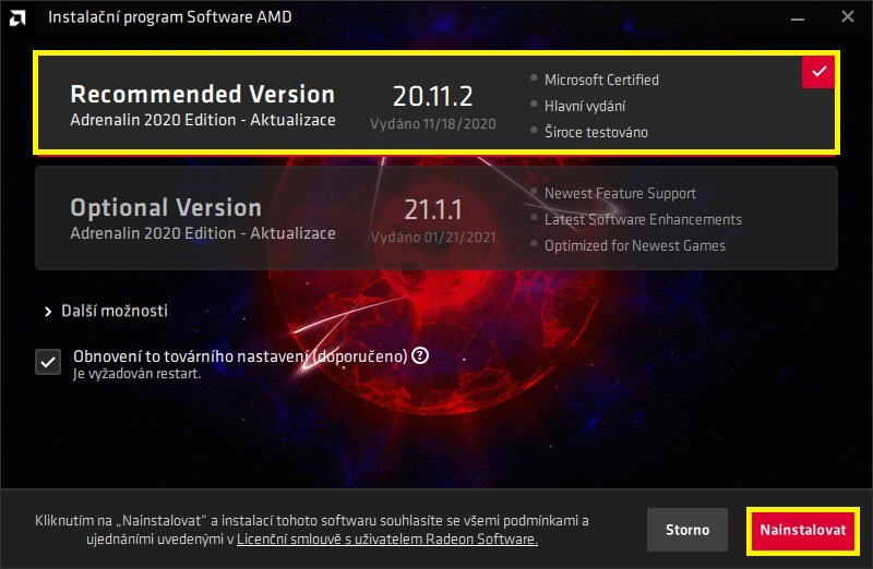 6 AMD Radeon Software Adrenalin 2020 edition